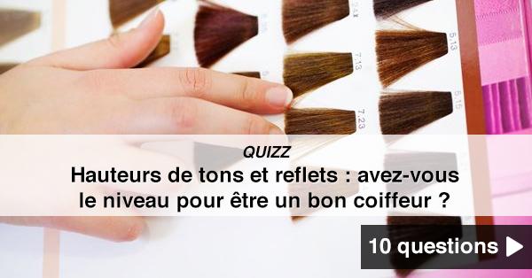 quizz hauteurs de tons et reflets avez vous le niveau pour tre un bon coiffeur quizz. Black Bedroom Furniture Sets. Home Design Ideas
