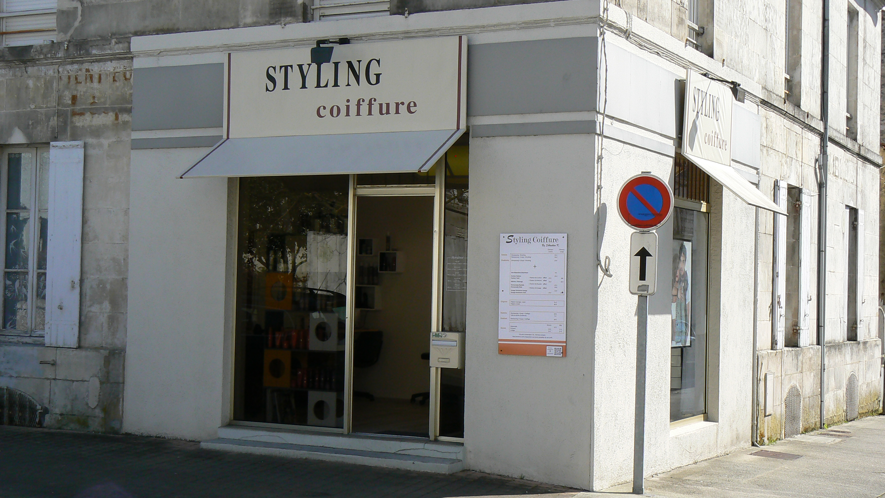 Styling coiffure by Sebastien k. - Saintes