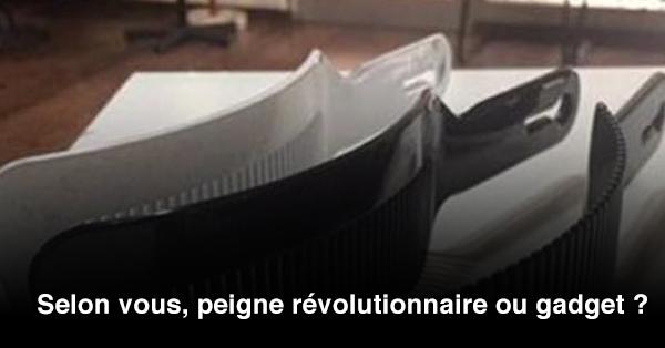 Ce peigne révolutionnaire va changer la vie des coiffeurs !