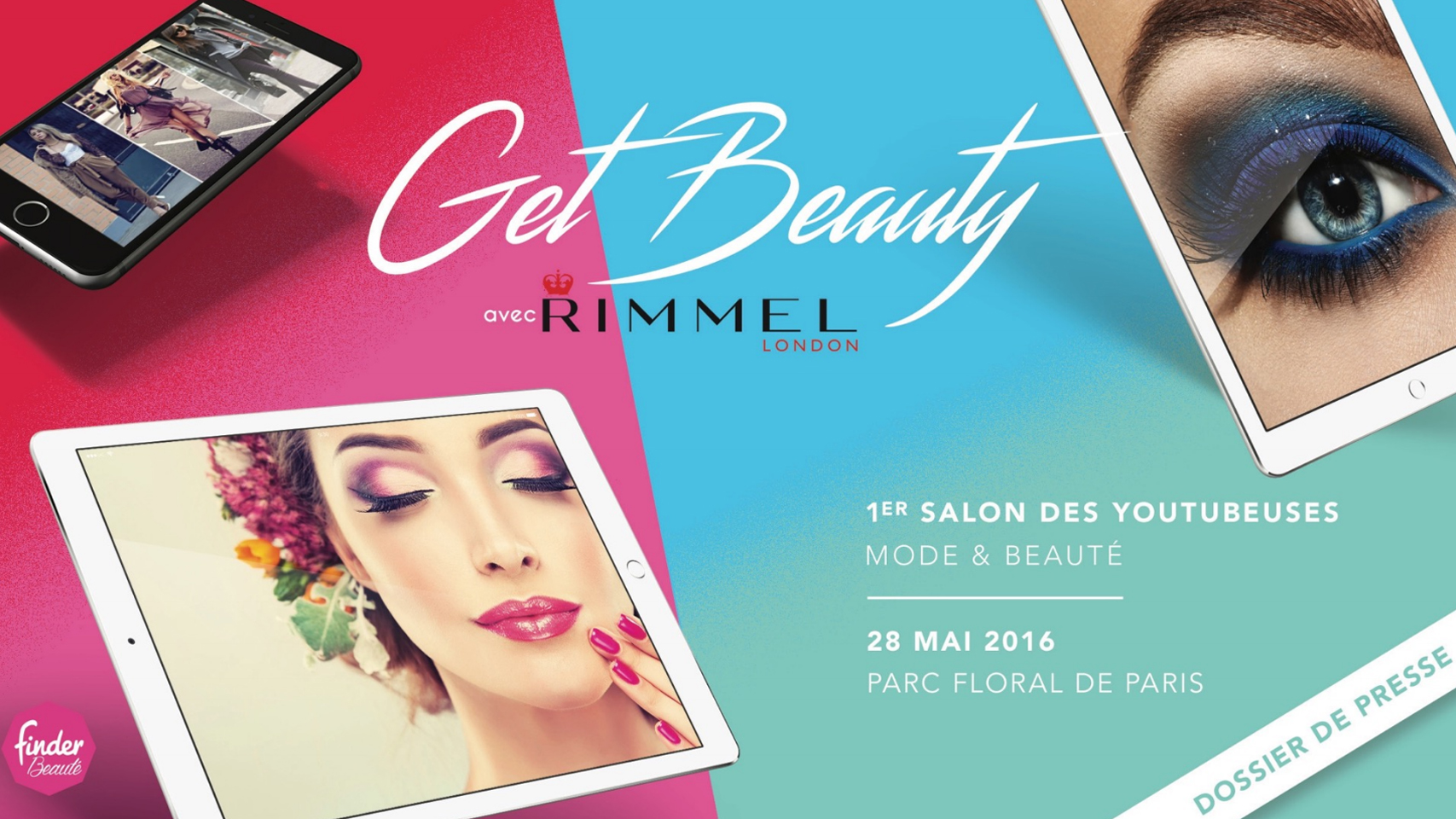 Getbeautyparis premier salon d di aux youtubeuse mode for Salon youtubeuse