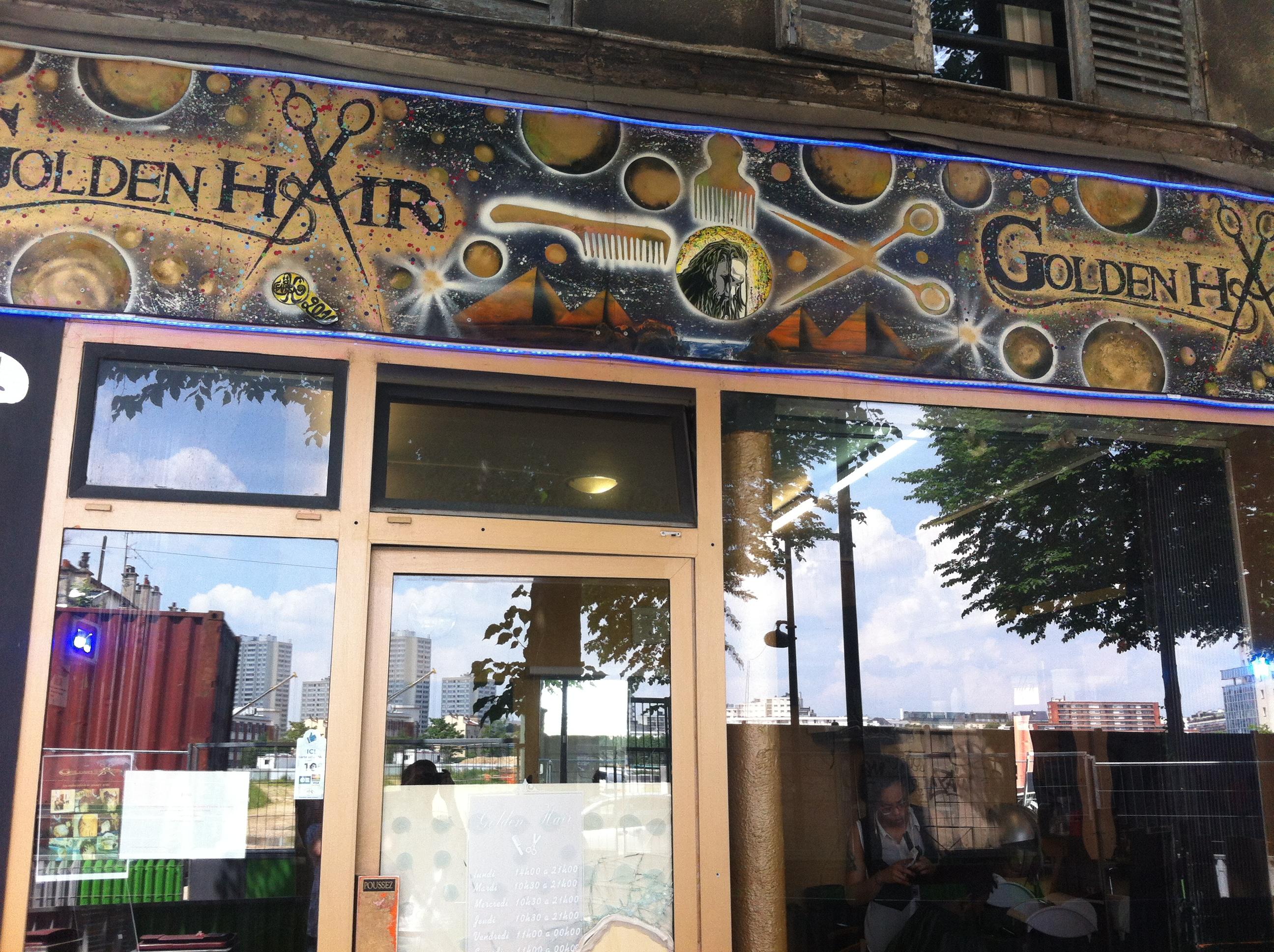 Golden hair - Ivry-sur-Seine