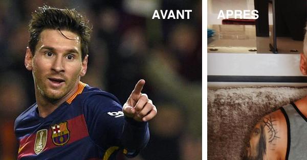 Lionel Messi change de coiffure, il est méconnaissable !