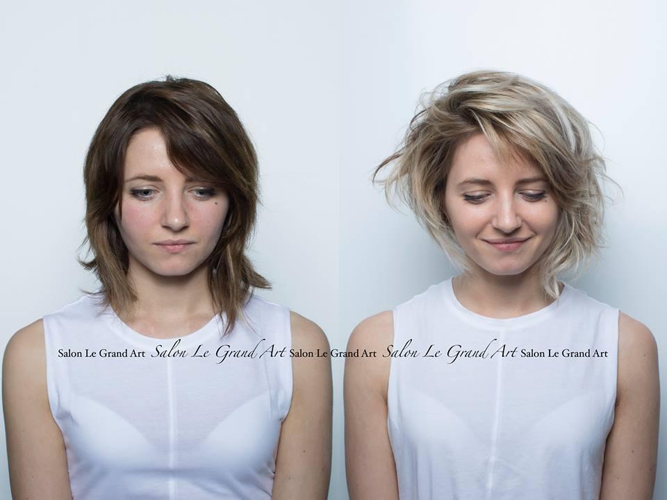 Nina rive gauche coiffure