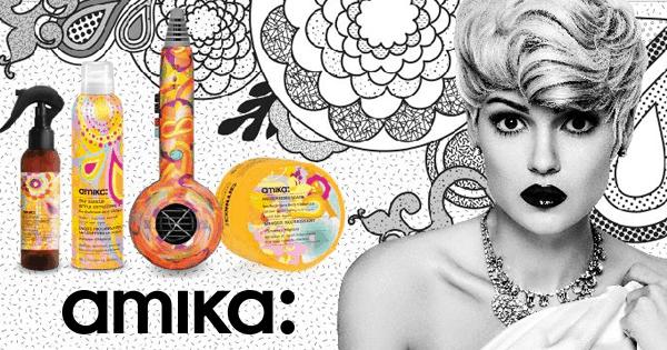 Amika, produits et matériels de coiffure professionnels... Vitaminez votre style
