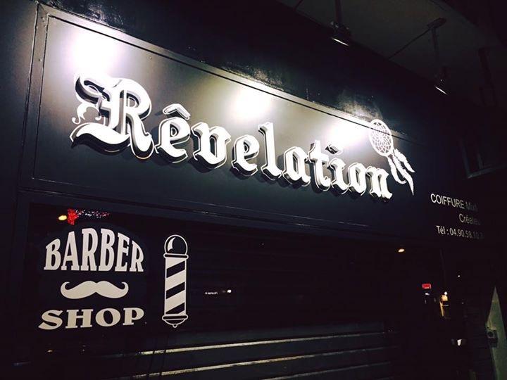 Rêvélation coiffure créateur Barber shop