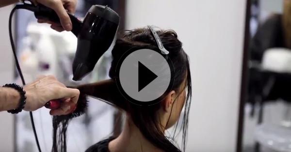 Ce tutoriel vous montre comment réaliser le brushing parfait pour vos clientes !