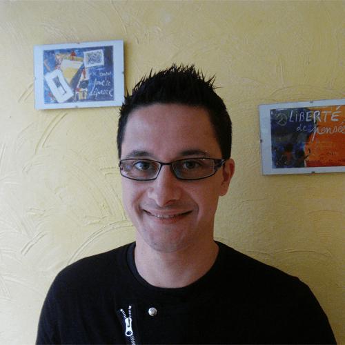 Franck, salon Brin d'Esprit à Nancy