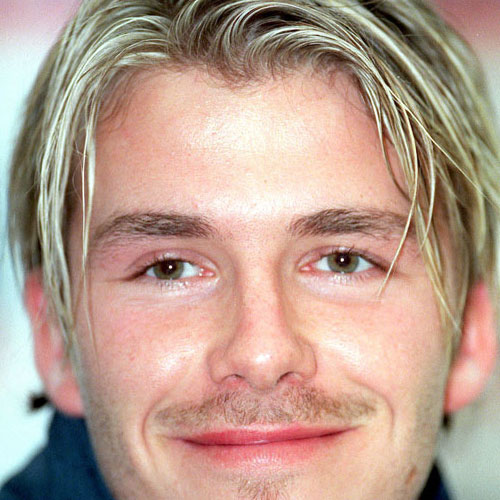 Coupe de cheveux de David Beckham
