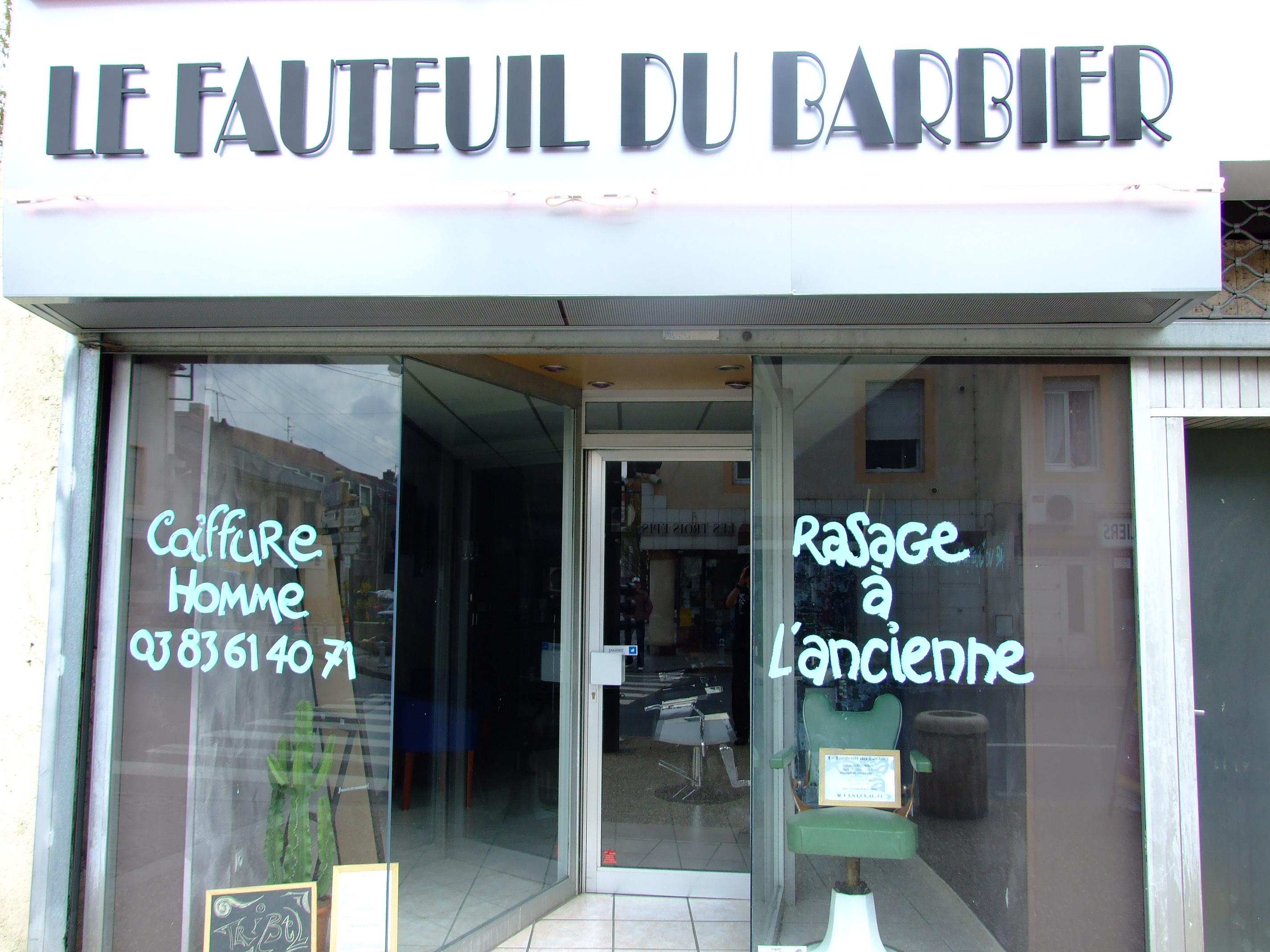 Le Fauteuil du Barbier
