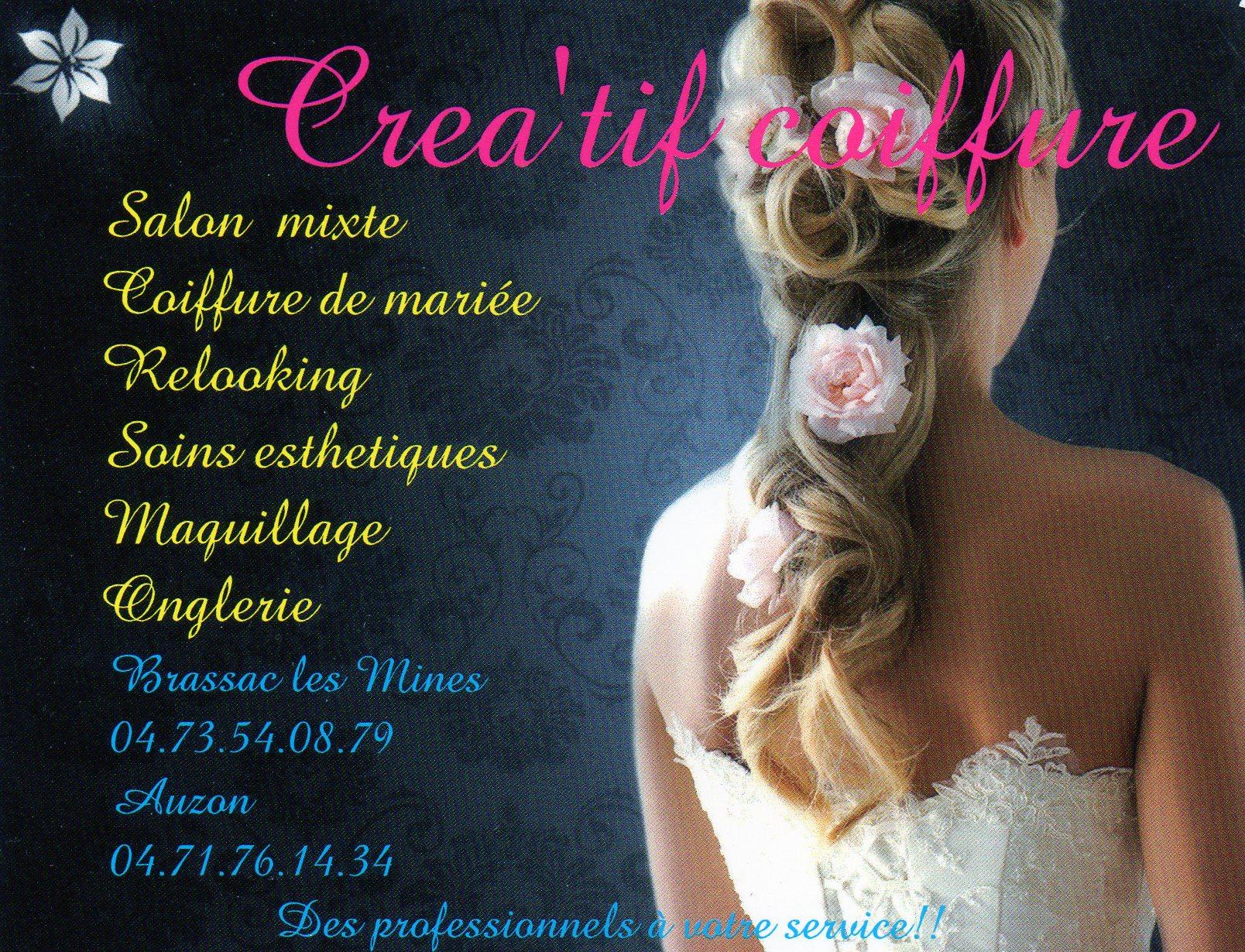 Créa'tif coiffure Brassac-les-Mines