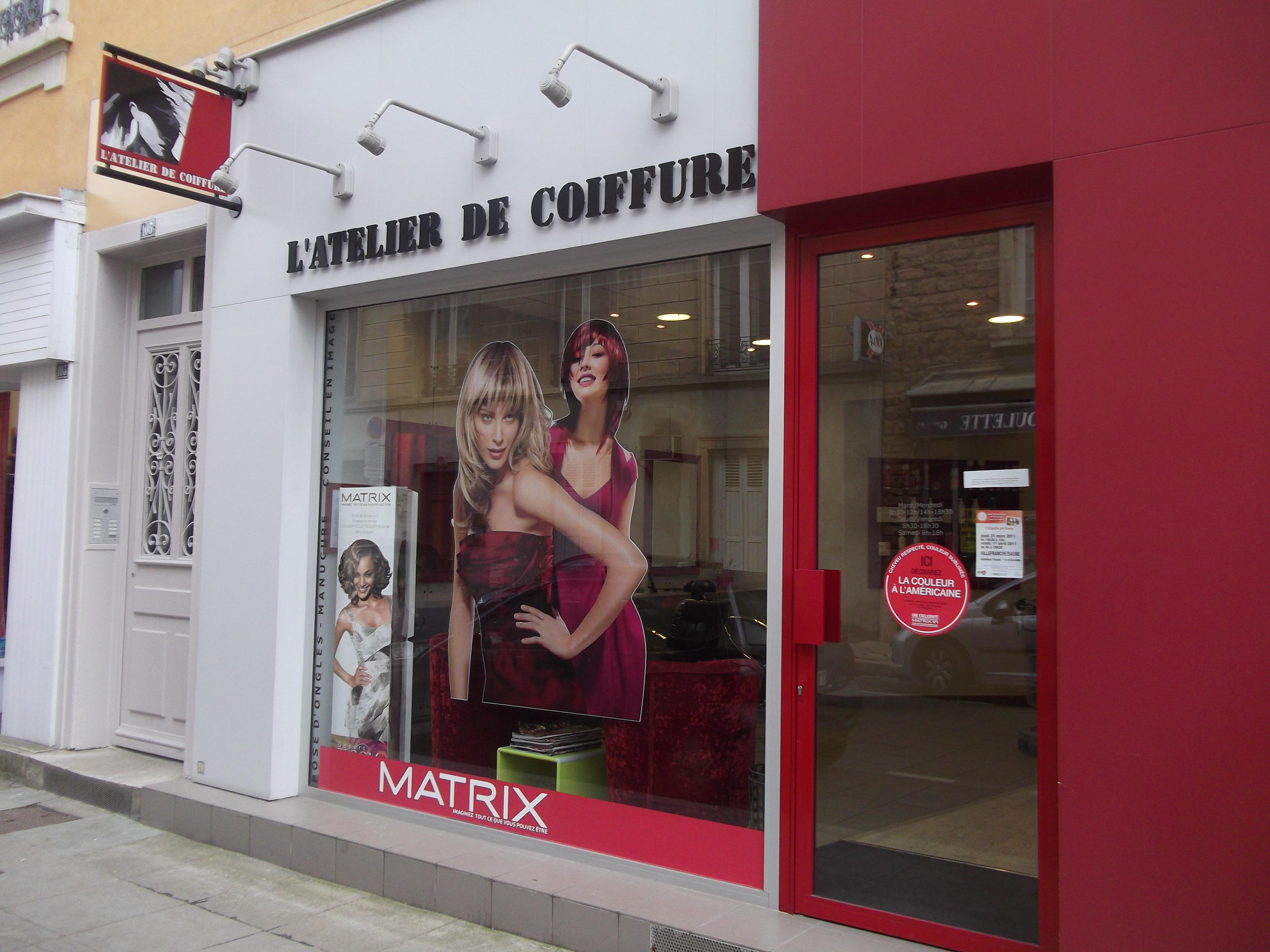 L 39 atelier de coiffure villefranche sur sa ne avis - Salon de coiffure villefranche sur saone ...