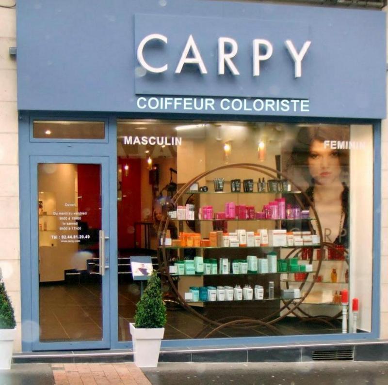 Carpy coiffeur coloriste le mans avis tarifs horaires for Salon de coiffure le mans