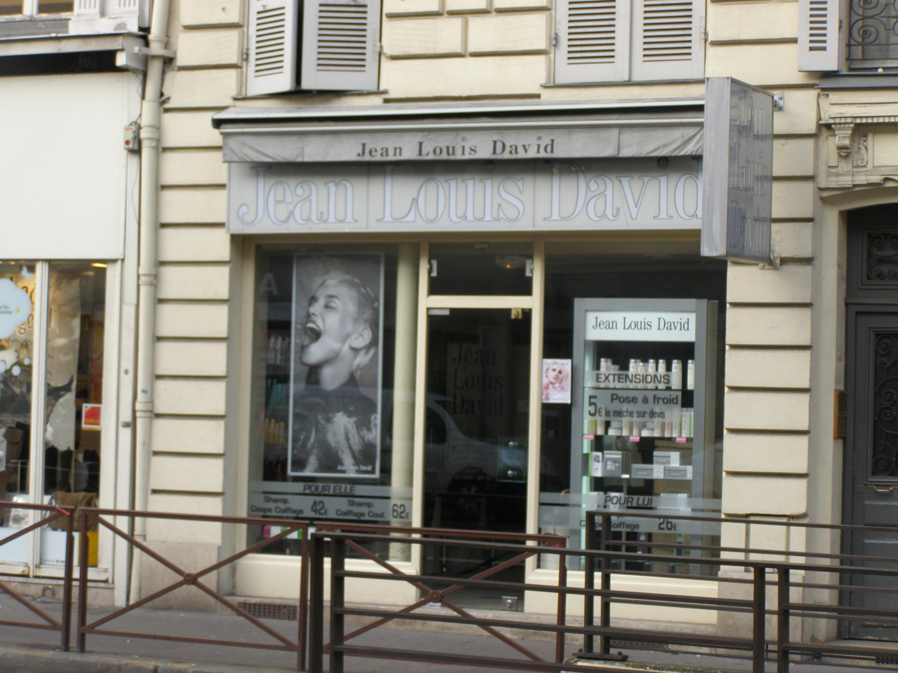 Jean louis david versailles avis tarifs horaires for Tarif salon jean louis david