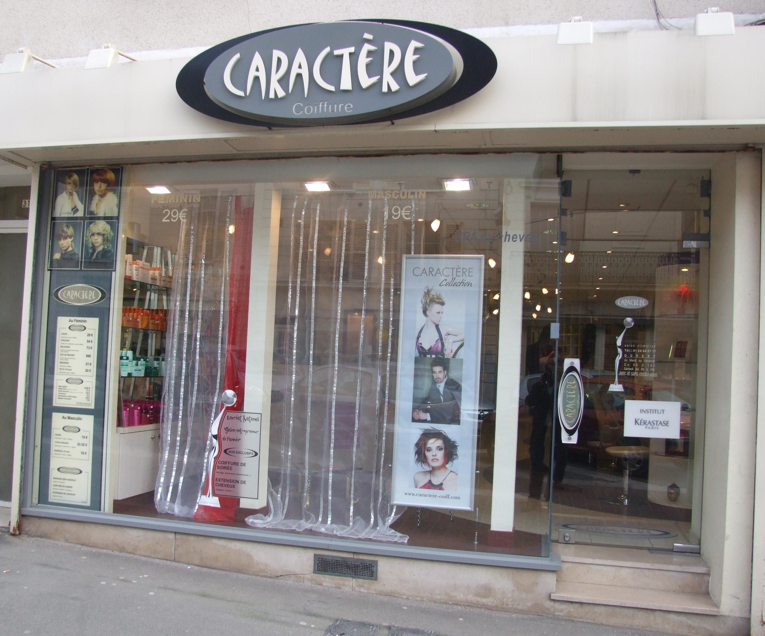 Caract re etampes avis tarifs horaires t l phone for Salon christine coiffure