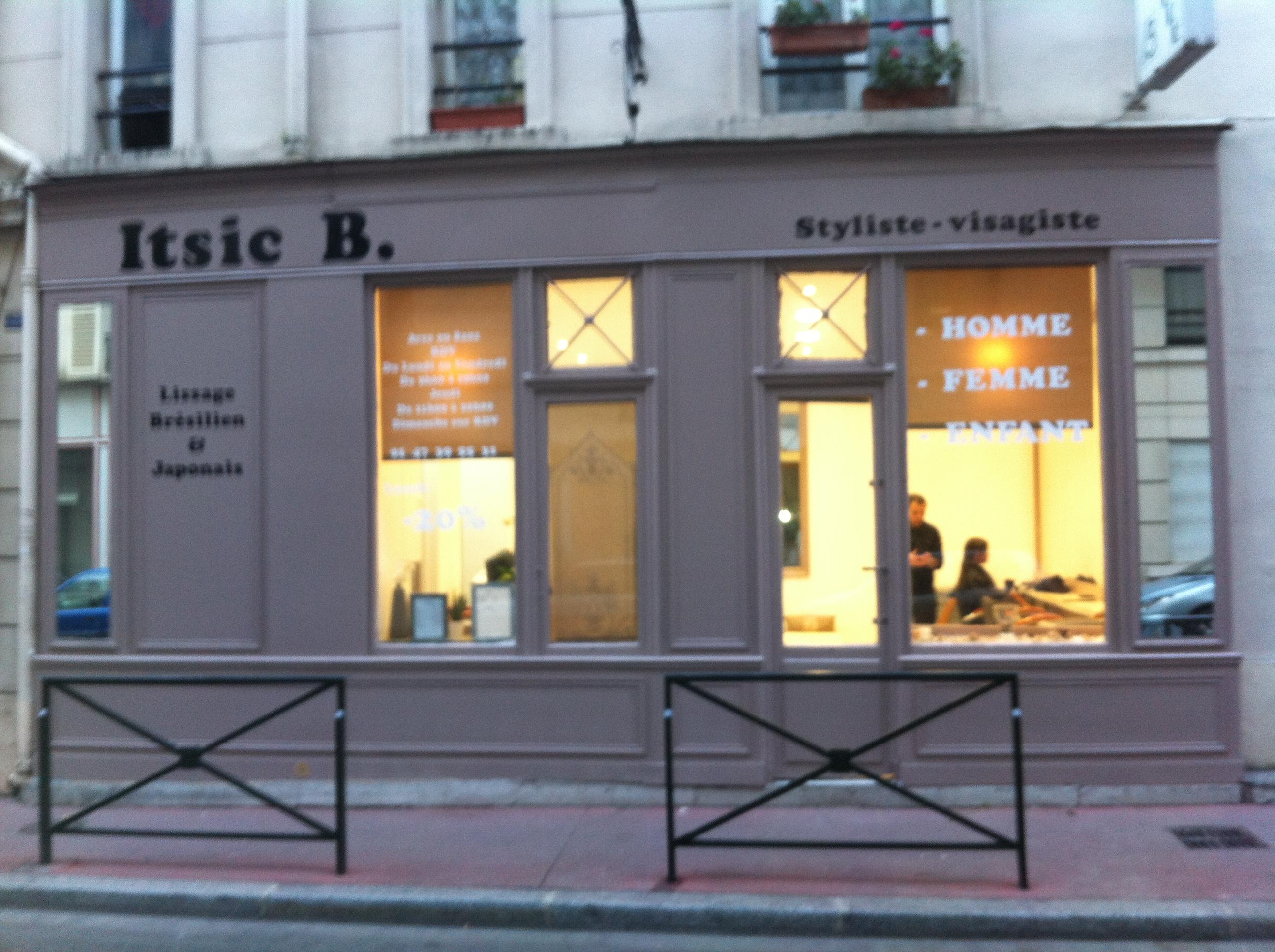 Itsic b levallois perret avis tarifs horaires t l phone for Salon de coiffure levallois