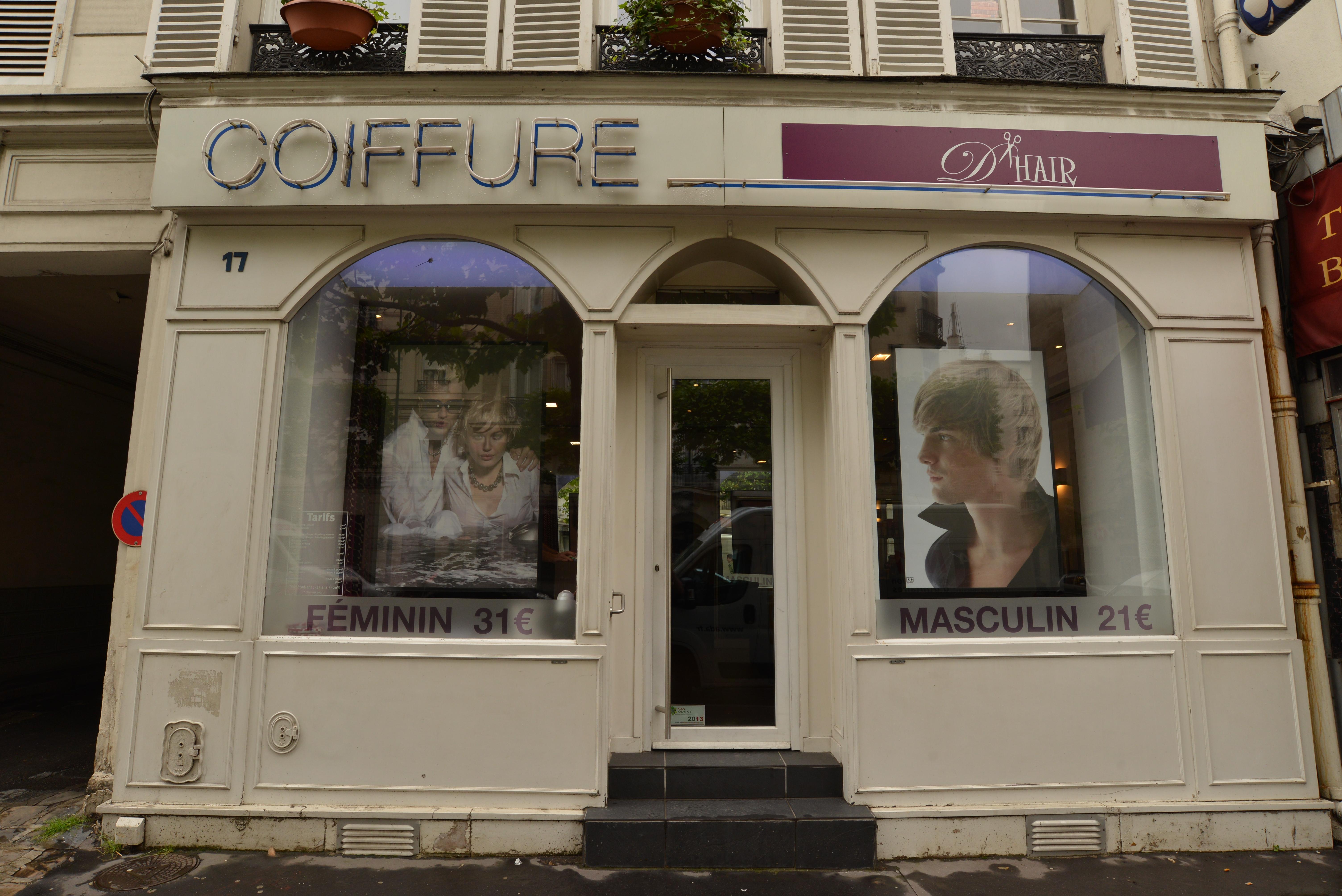D Hair Coiffure Vincennes Avis Tarifs Horaires Telephone