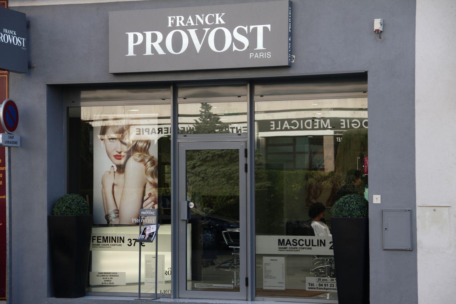 Franck provost marseille avis tarifs horaires t l phone for Tarif salon franck provost