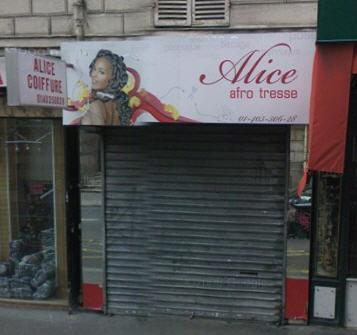 Alice Coiffure à Paris 10