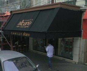 Camille Albane à Paris 11