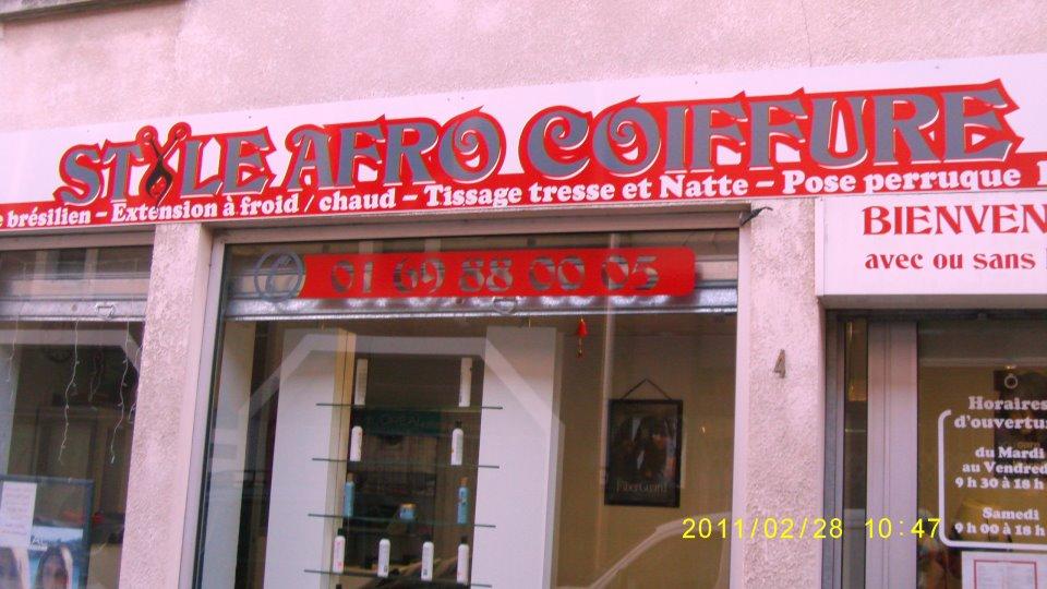 Style afro coiffure corbeil essonnes avis tarifs horaires t l phone - Salon de coiffure ouvert le dimanche paris ...