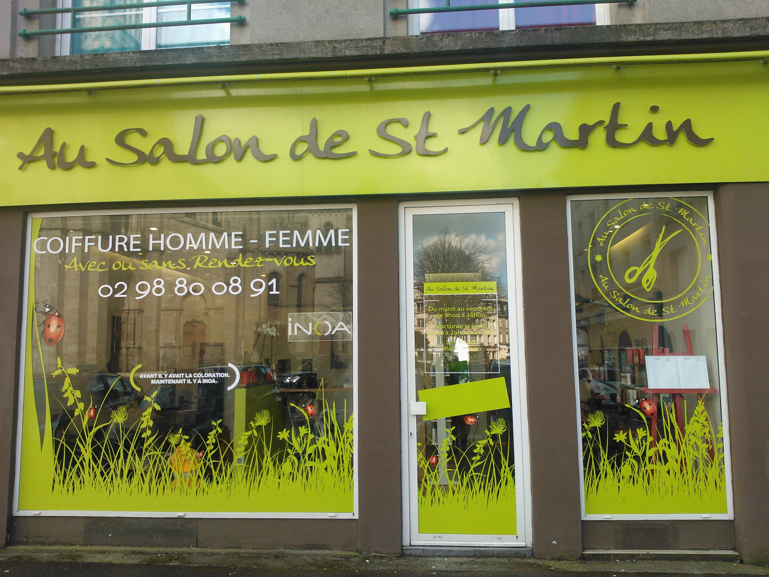 Au salon de St Martin Brest - Avis, Tarifs, Horaires, Téléphone