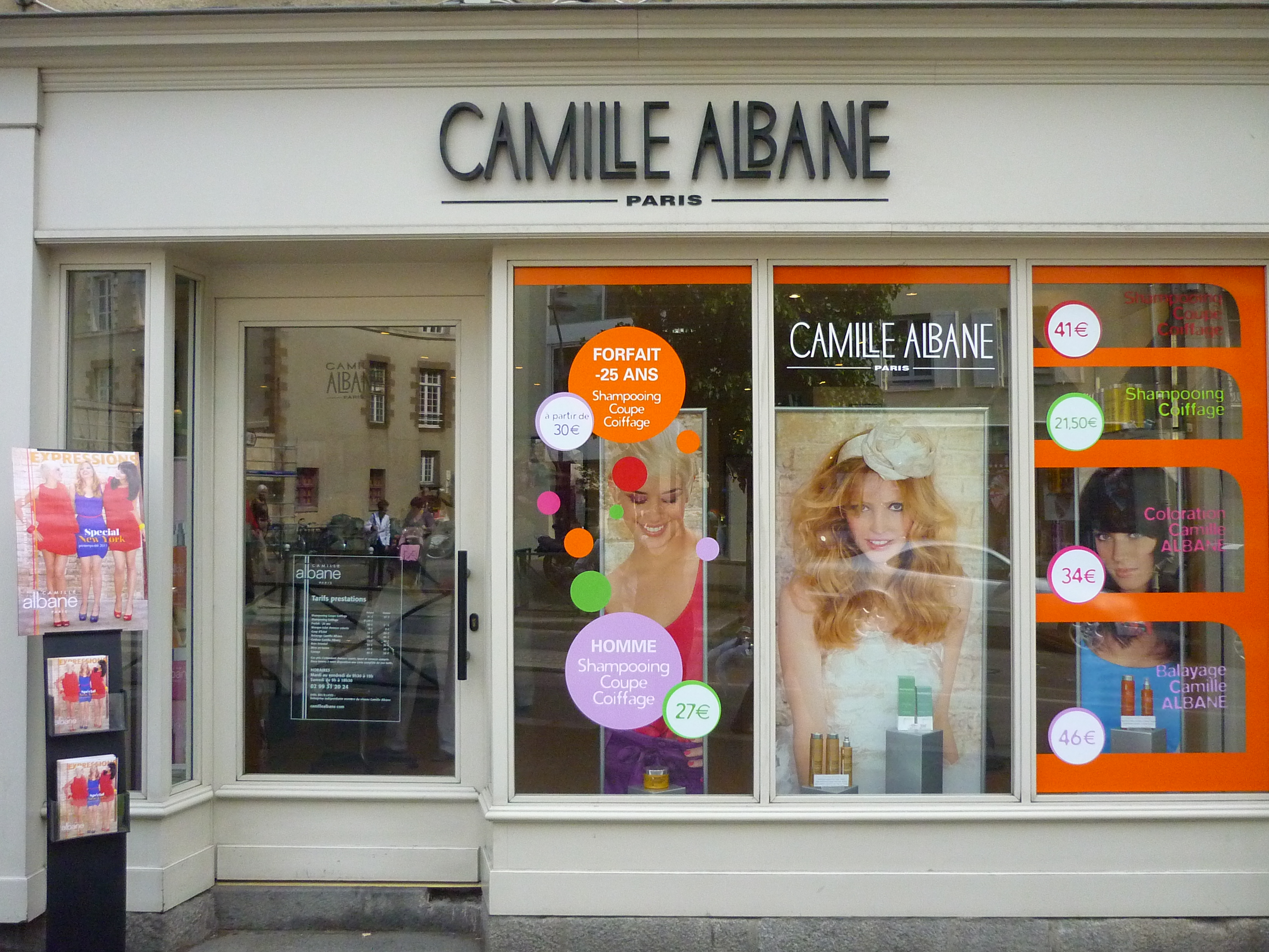 Prix coupe homme camille albane