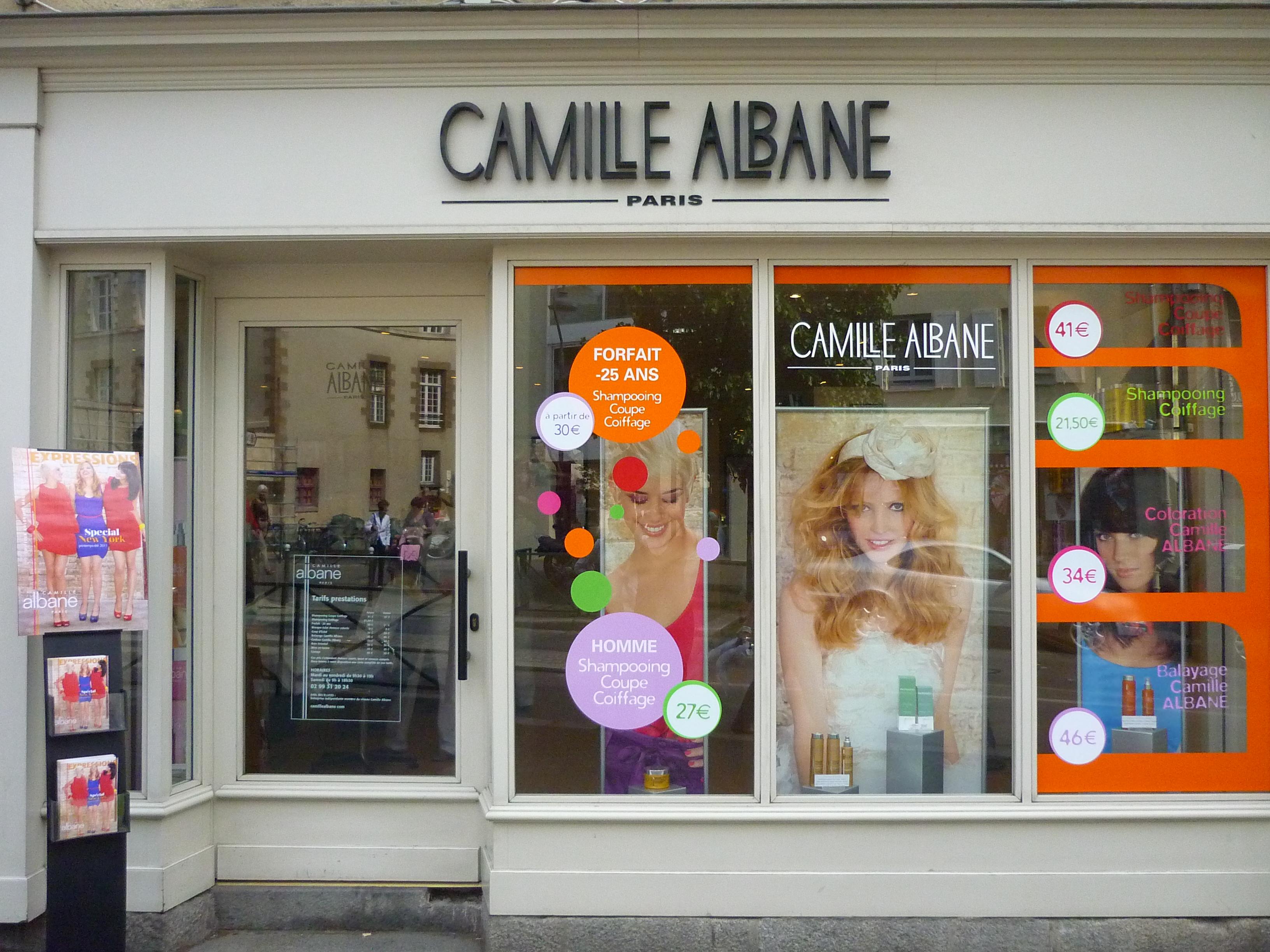 Camille albane rennes avis tarifs horaires t l phone for Salon de coiffure camille albane
