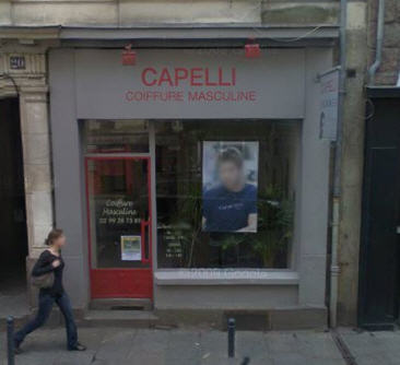 Capelli coiffure masculine rennes avis tarifs horaires for Salon coiffure rennes
