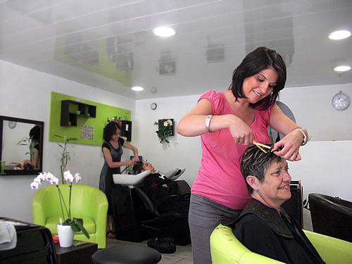 Laurie Tif hair - Avignon