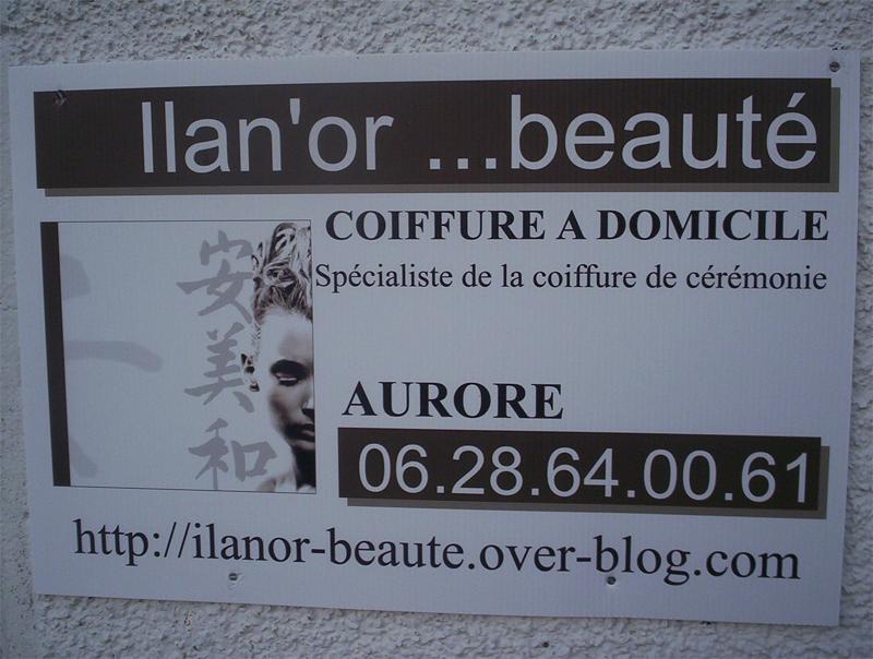 Ilan'or ...beauté coiffure à domicile