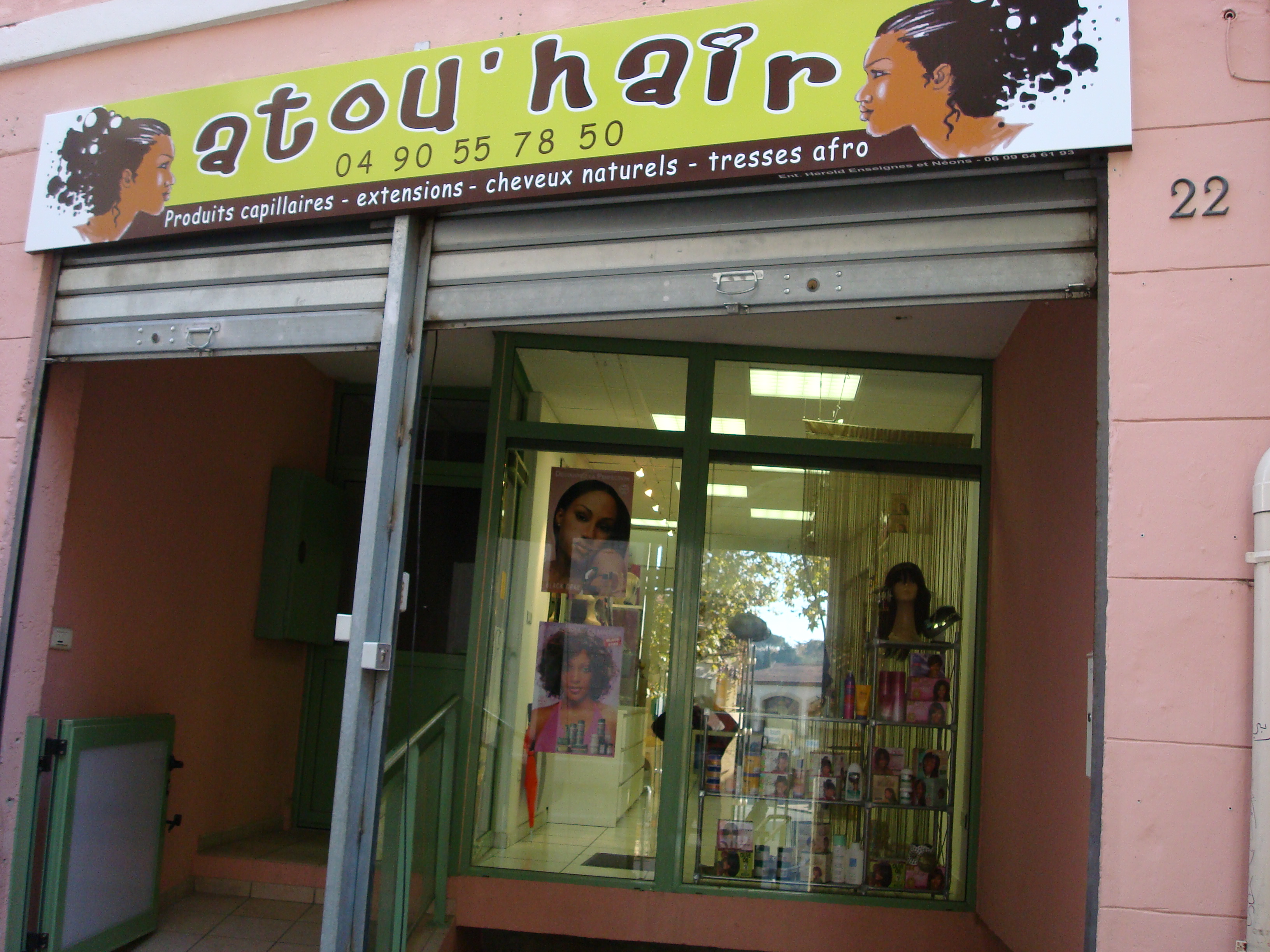 Extension cheveux tissage istres