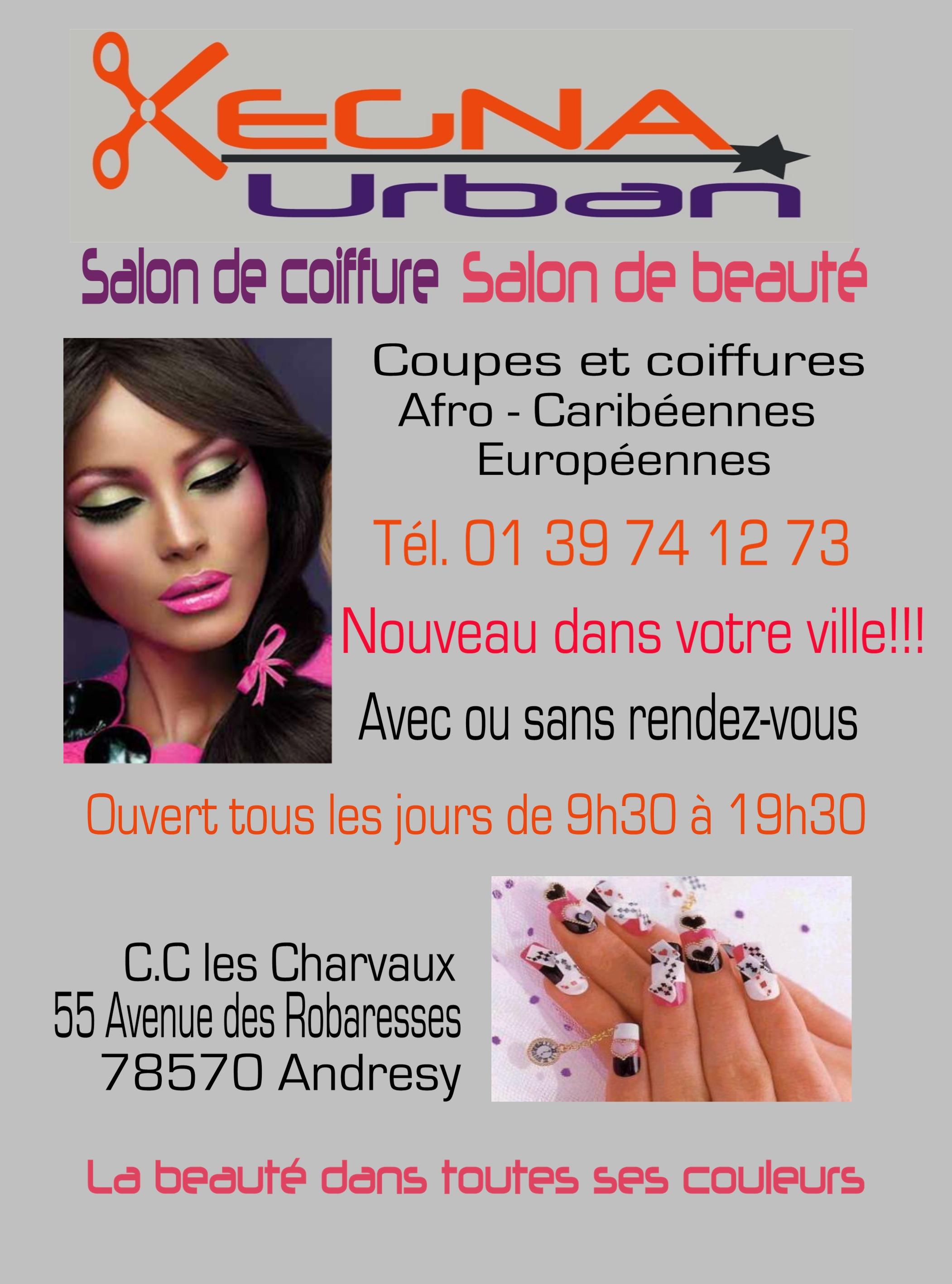 Kegna urban andr sy avis tarifs horaires t l phone - Salon de coiffure ouvert le dimanche paris ...