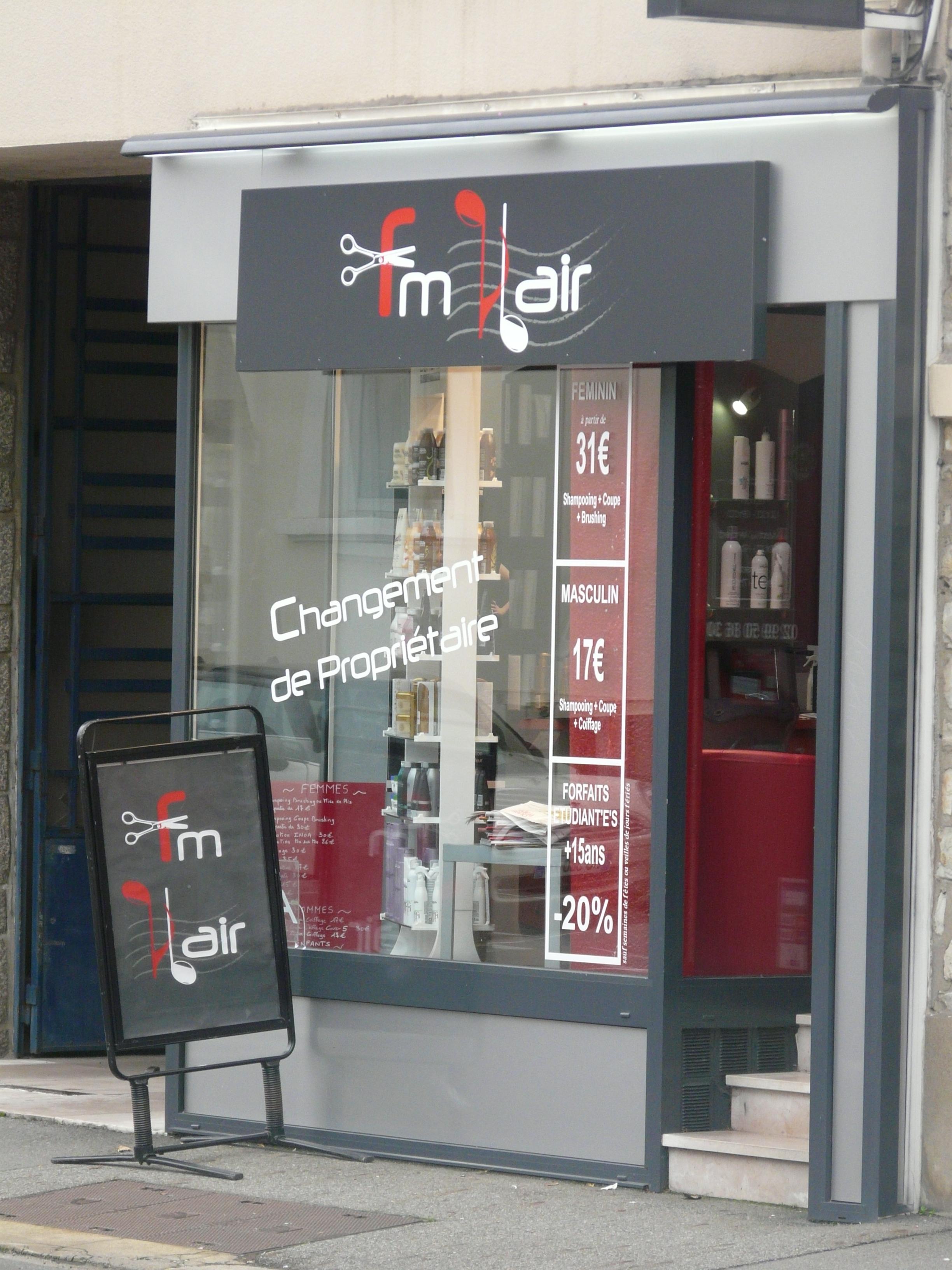 Fm 39 hair rennes avis tarifs horaires t l phone for Salon coiffure rennes