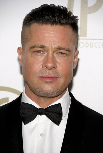 nouveau look pour brad pitt coiffure people. Black Bedroom Furniture Sets. Home Design Ideas