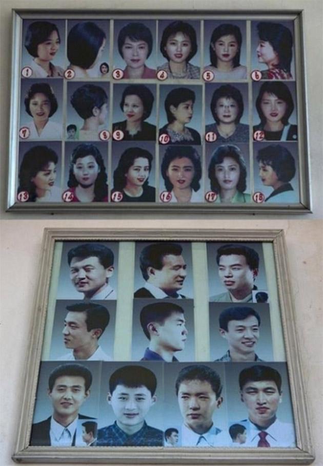 Coupe cheveux imposée Corée du Nord