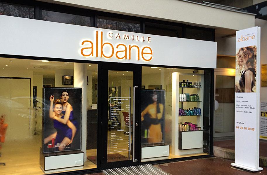 Ouvrir une franchise camille albane avec seulement 25 000 for Salon de coiffure camille albane