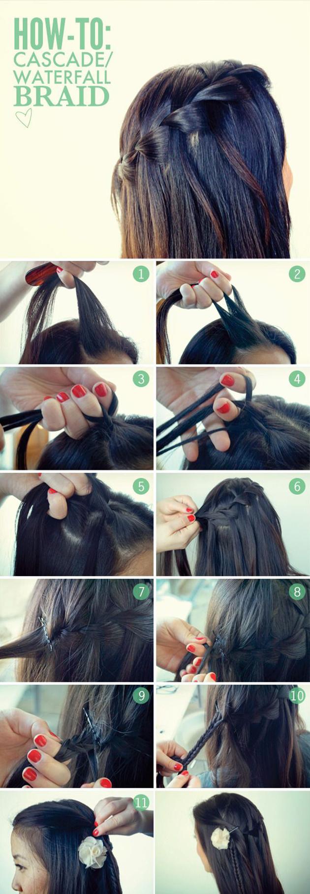 Tutoriel coiffure