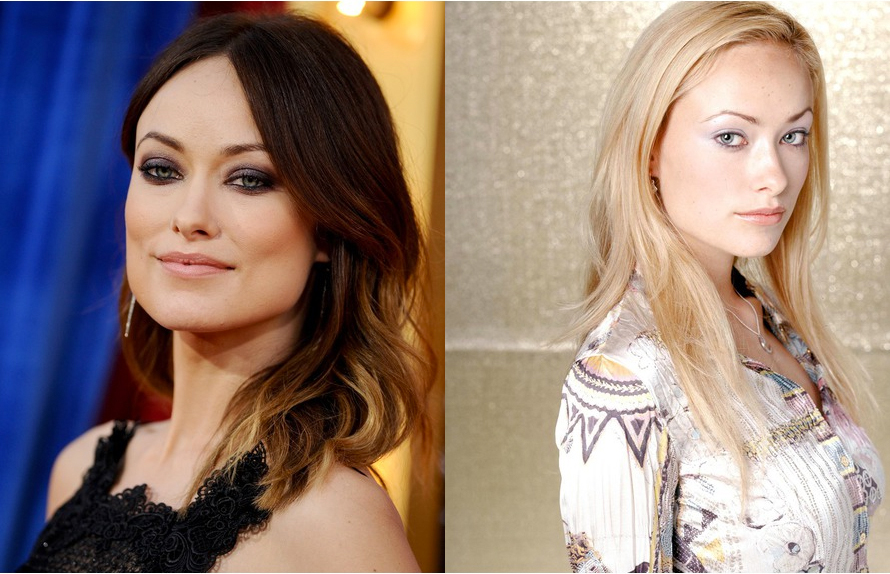olivia wilde brune - Coloration Brune A Blonde