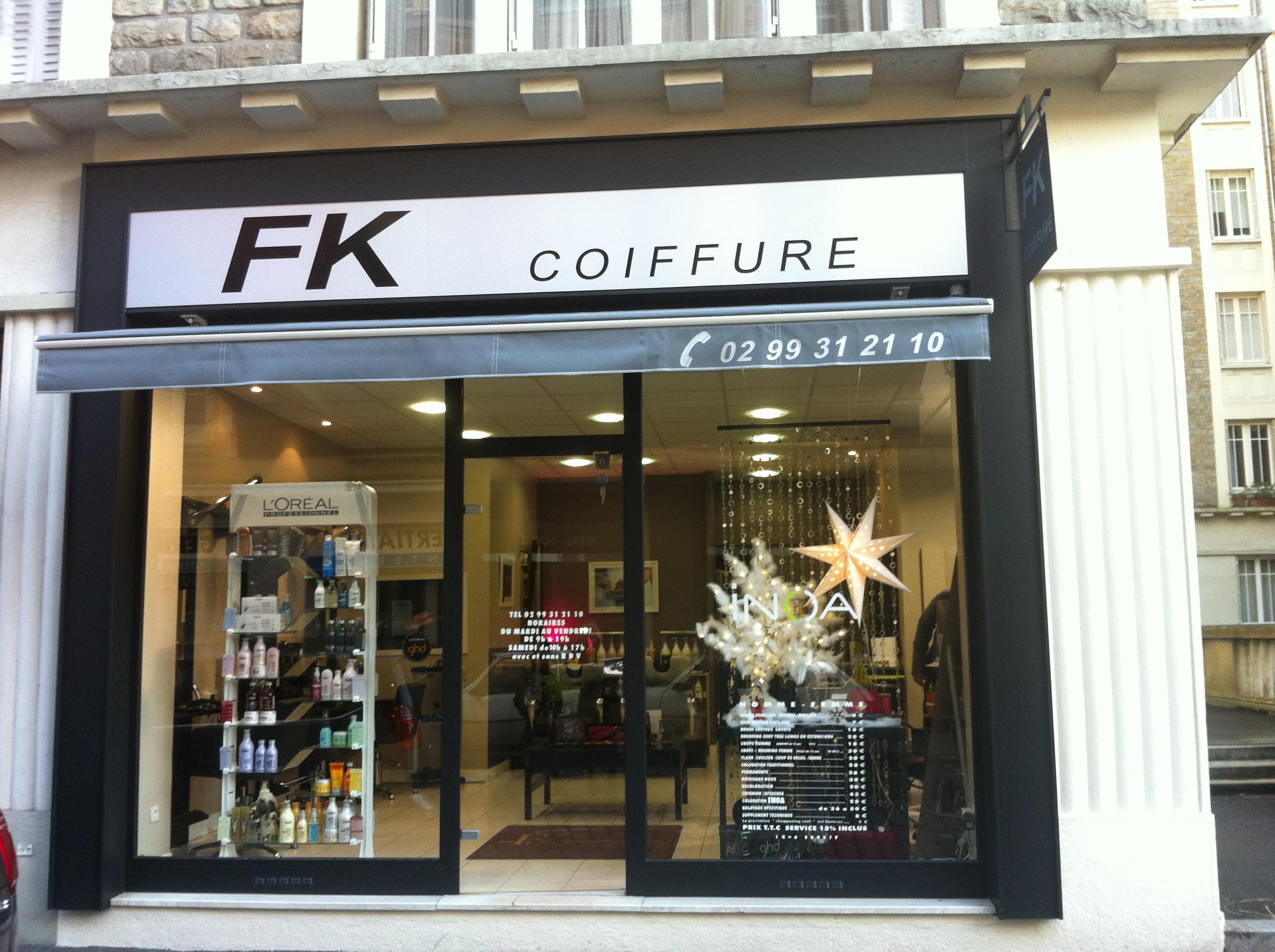 F k coiffure rennes avis tarifs horaires t l phone for Salon coiffure rennes