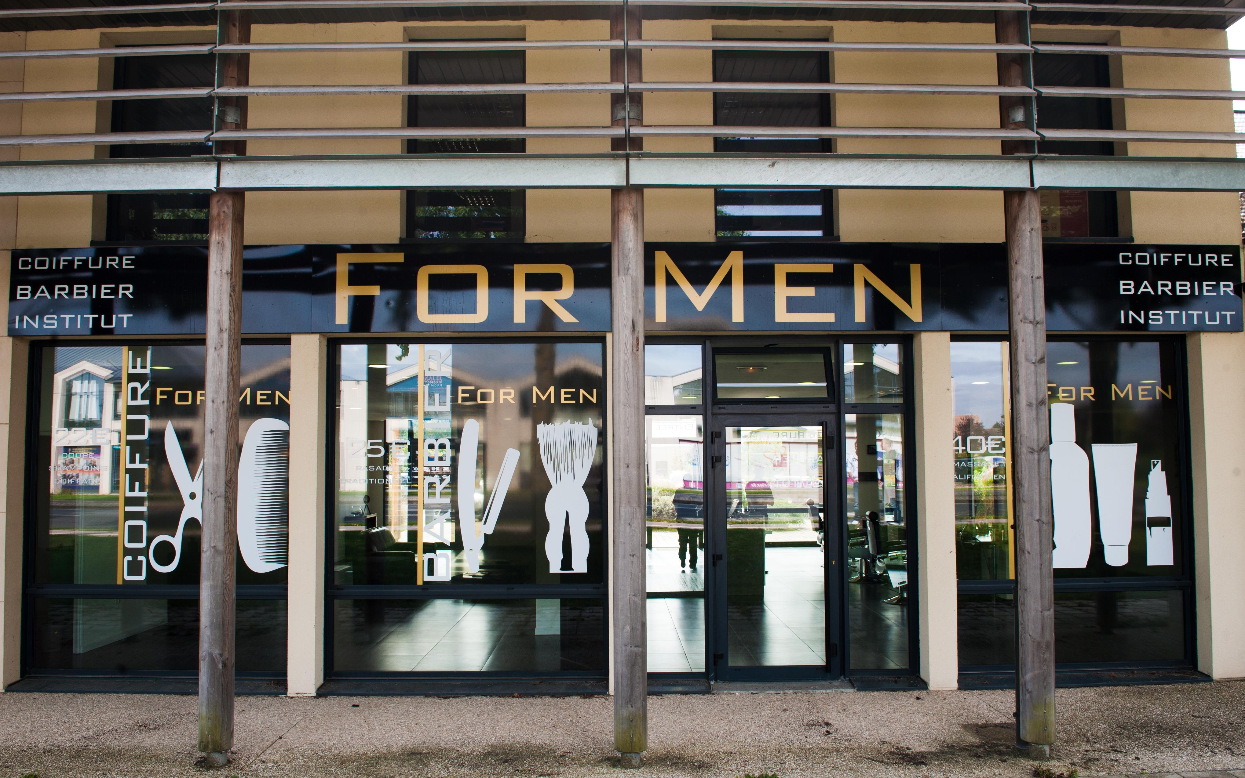 For Men Coiffeur Barbier Institut