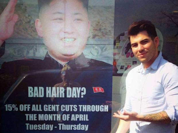 Corée du Nord coiffure