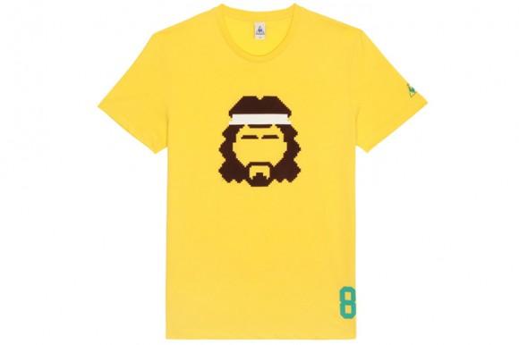 T shirt coiffure footballeur