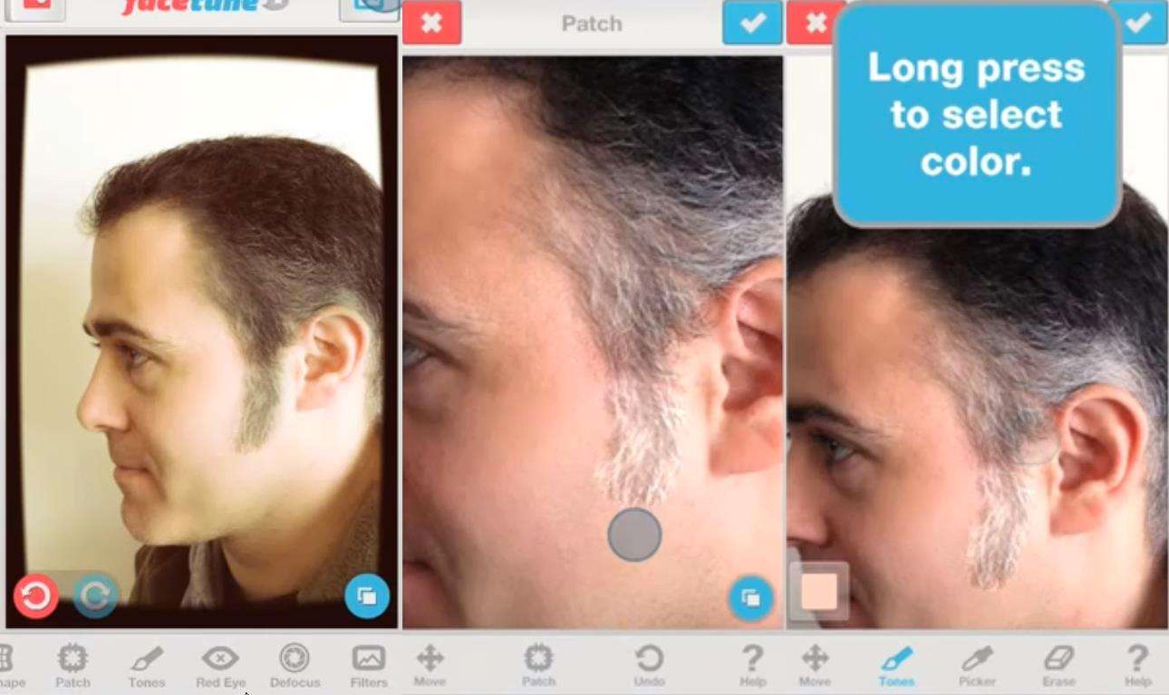 Application coiffure iphone android