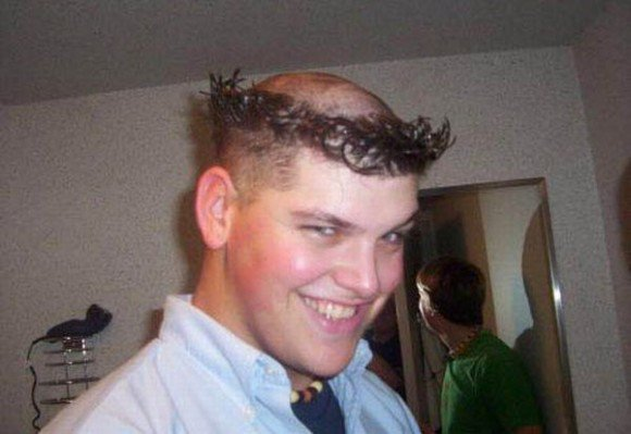 coiffure homme ridicule