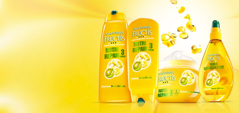 Masque spray Fructis