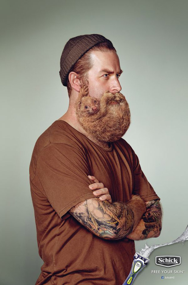 Barbe animal