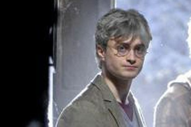 Harry Potter cheveux gris