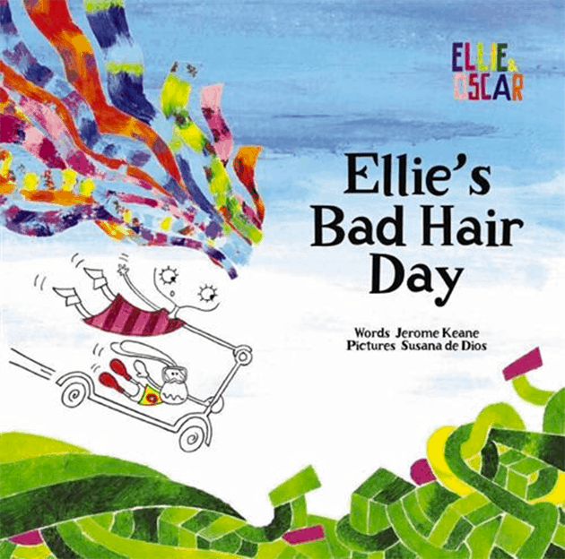 Ellie's bad hair day cheveux