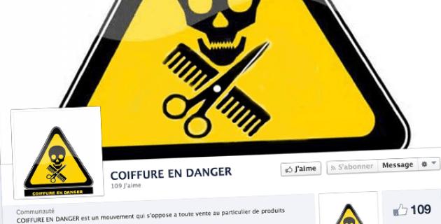 Coiffure en danger