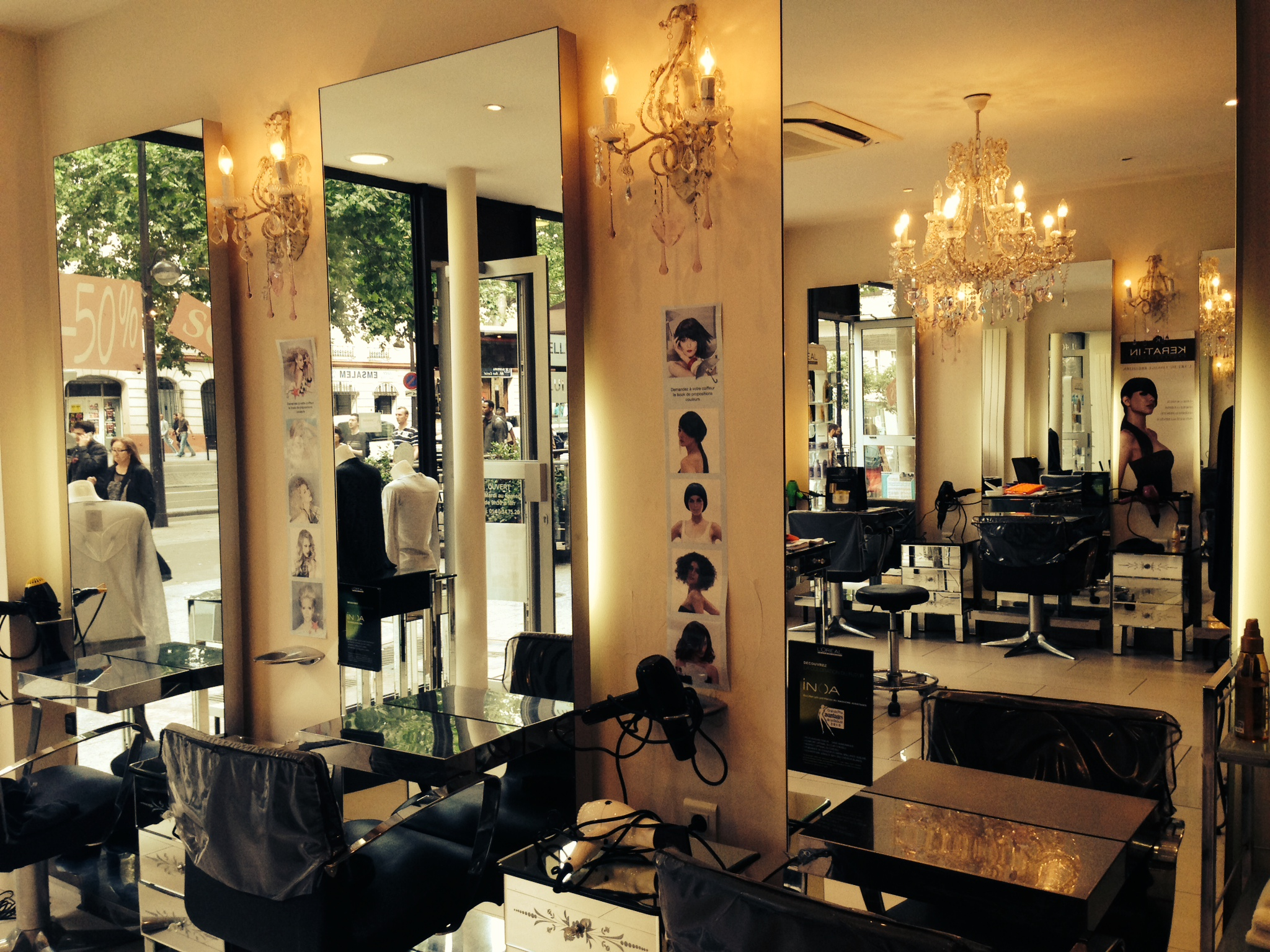 Lydie coiffure paris 19 avis tarifs horaires t l phone for Avis salon de coiffure